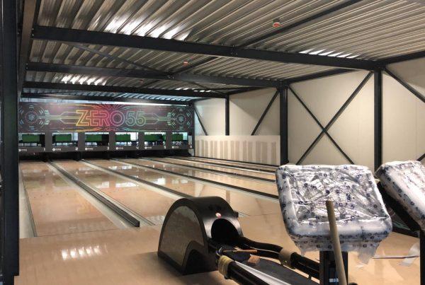futuristische bowlingbaan
