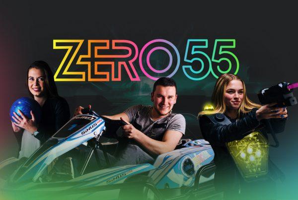 ZERO55 Apeldoorn opent 13 juli 2019 haar deuren. Karten, bowlen en lasergamen in Apeldoorn