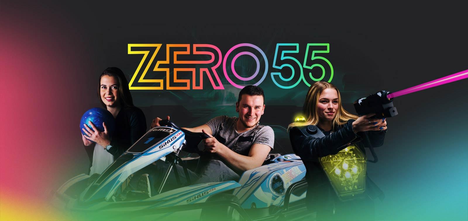 Karten, lasergamen en bowlen bij ZERO55 in Apeldoorn