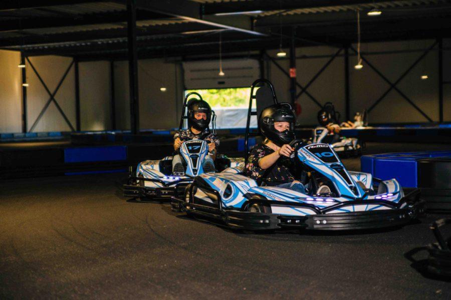 Indoor en outdoor karten bij ZERO55 in Apeldoorn
