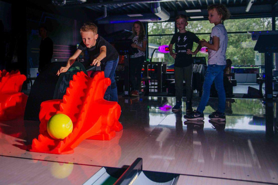Bowlen met je kinderfeestje bij ZERO55 in Apeldoorn