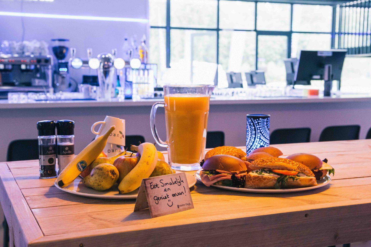 Boek een heerlijke lunch bij ZERO55 in Apeldoorn