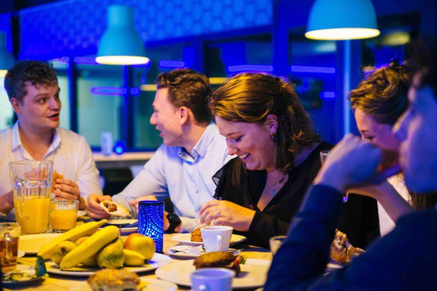 Vergaderen bij ZERO55 in Apeldoorn