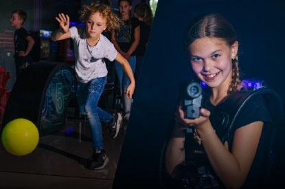 Bowlen en Lasergamen met je kinderfeestje bij ZERO55 in Apeldoorn