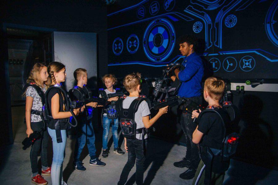 Kom met je kinderfeestje lasergamen bij ZERO55 in Apeldoorn