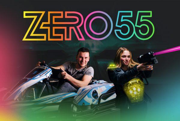 Combineer karten en lasergamen in Apeldoorn bij ZERO55