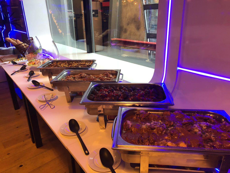 Laat je verrassen door het exclusieve buffet van ZERO55