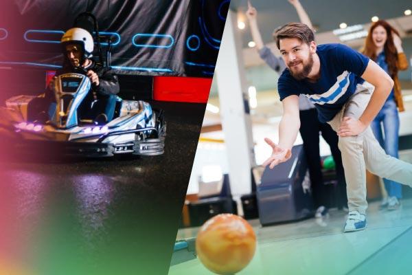 Combineer tijdens je groepsuitje karten en bowlen bij ZERO55 in Enschede