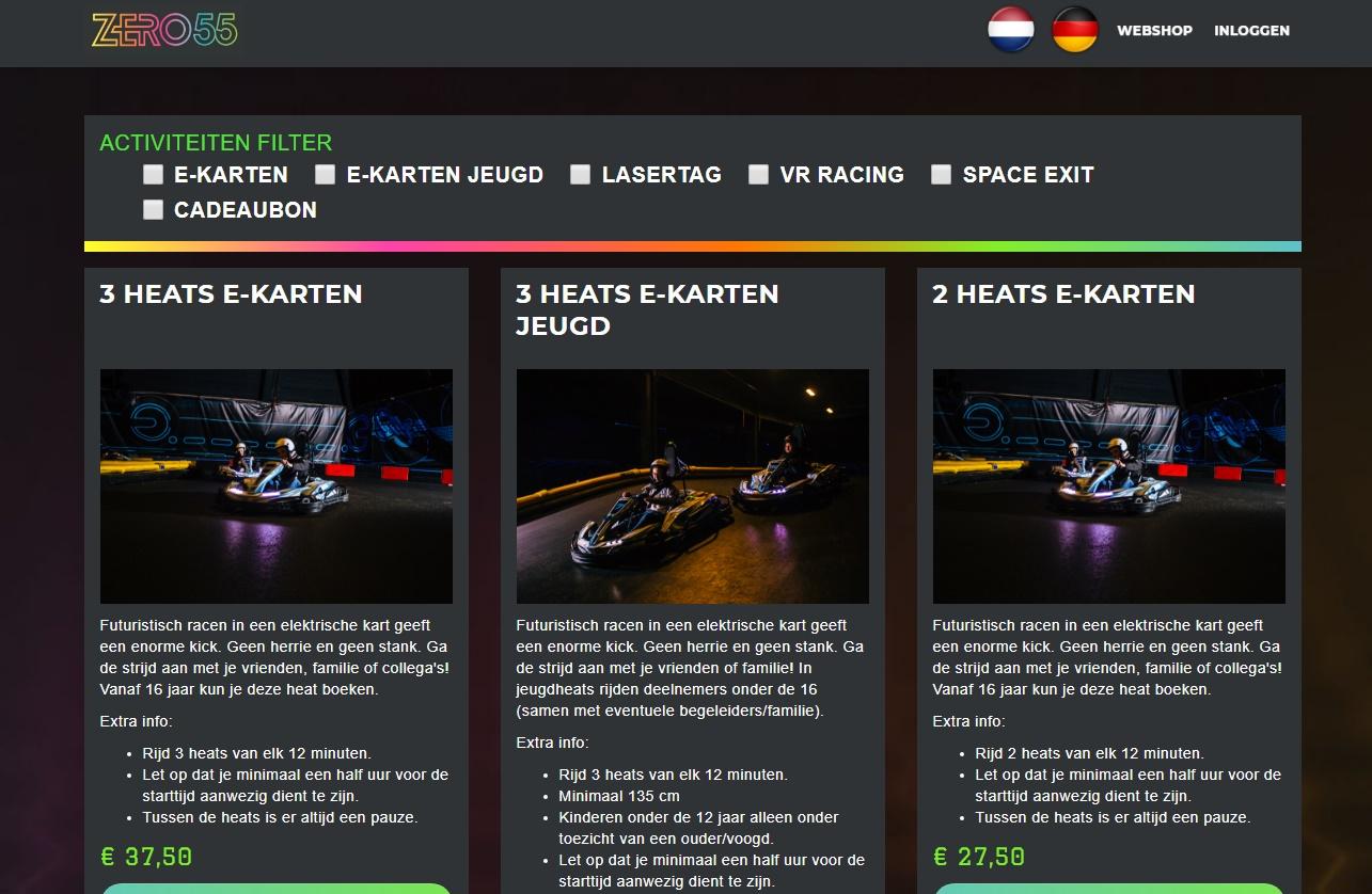 screenshot_webshop - ZERO55