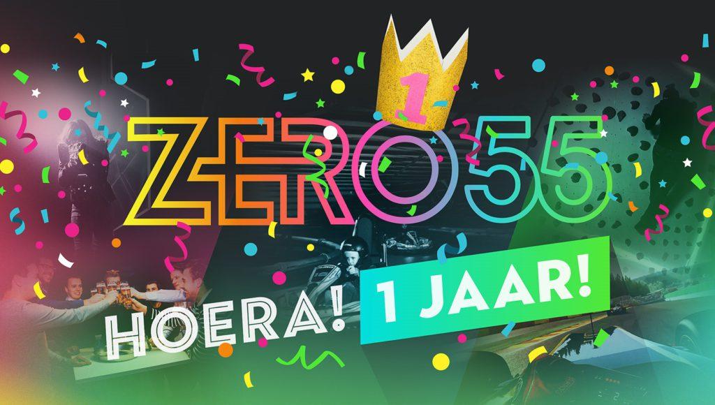 Zero55 Enschede Viert 1e Verjaardag Zero55