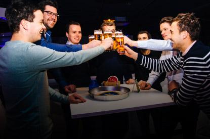 Diverse mogelijkheden qua eten en drinken bij ZERO55 in Enschede