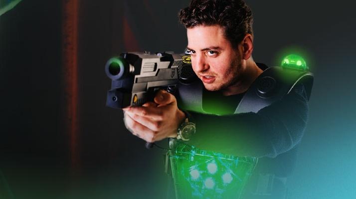 Kom lasergamen bij ZERO55 Enschede