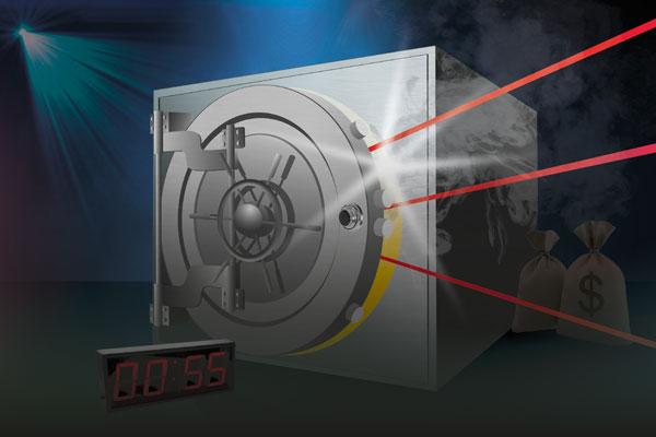 Ontsnap binnen 55 minuten uit Escape Room the Bank Vault bij ZERO55